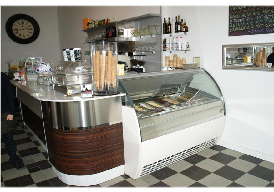 Eiscafe einrichtung in stilvollen und funktionalen designs for Einrichtung planen